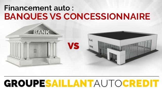 Banques vs Concessionnaire